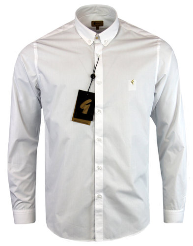 GABICCI VINTAGE Mod Stud Collar Smart Dress Shirt
