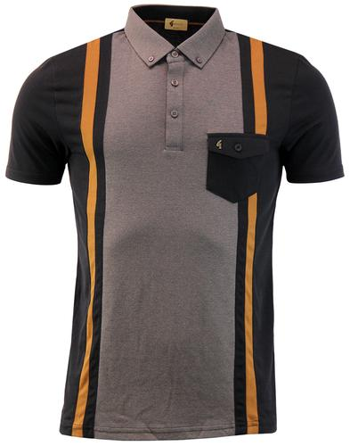 Contour GABICCI VINTAGE Stripe Panel Pocket Polo B