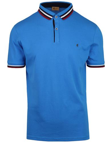 Payton GABICCI VINTAGE Retro Mod Tipped Polo Top C