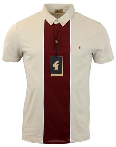 GABICCI VINTAGE RETRO MOD PORT PANEL POLO LATTE