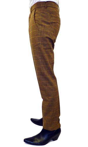 Hammersmith GABICCI VINTAGE Mod Dogtooth Trousers