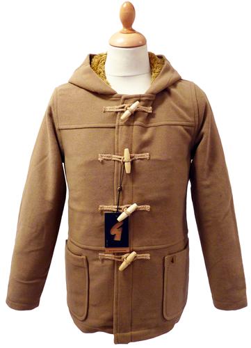 GABICCI VINTAGE Arlington Duffle Coat | Retro Mod Sherpa Lined Jacket