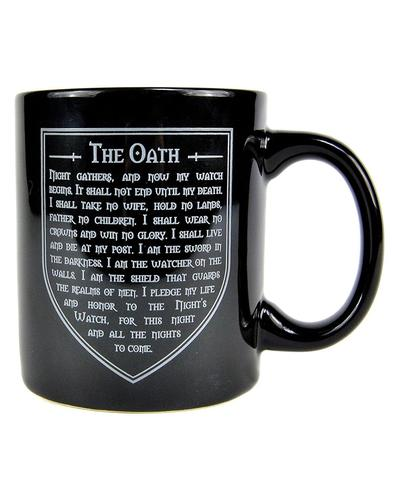 The Night's Watch GAME OF THRONES Oath Boxed Mug