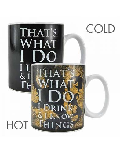 Tyrion GAME OF THRONES Retro Heat Changing Mug