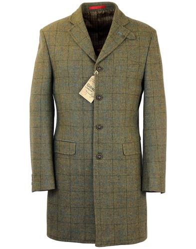 GIBSON LONDON MOD VINNIE WINNIE COAT JACKET SAGE