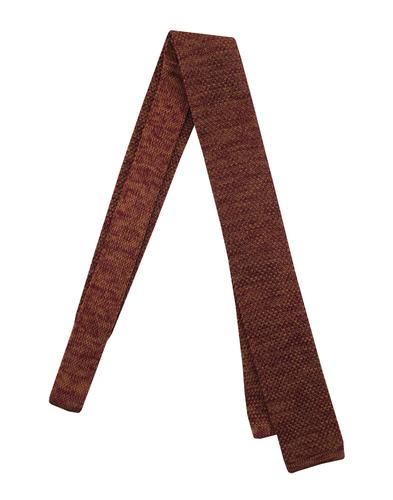 gibson-kintted-tie-burgundy-camel-front.jpg