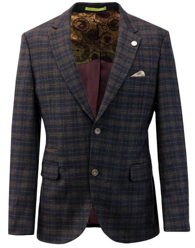 Towergate GIBSON LONDON Tartan Check Suit Jacket