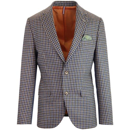 Towergate GIBSON LONDON Mod Check 2 Button Blazer