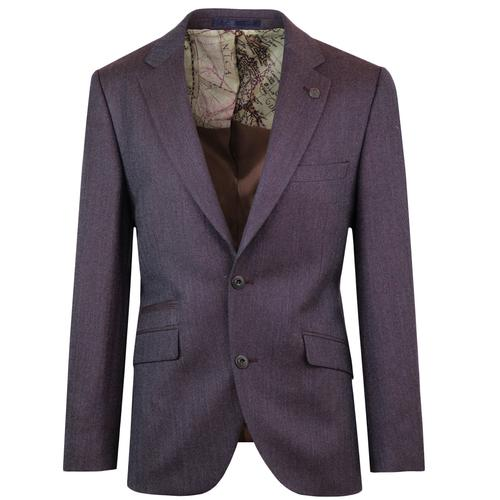 Towergate GIBSON LONDON Herringbone Tonic Blazer