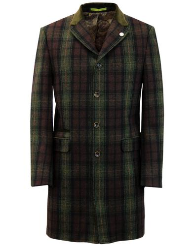 Winnie GIBSON LONDON 3/4 Length Cord Collar Coat G