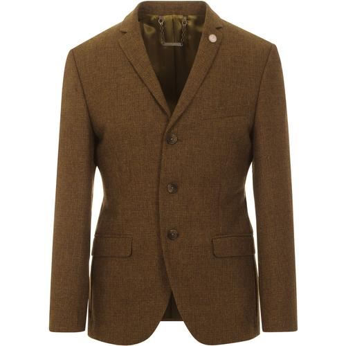 GIBSON LONDON Mod Puppytooth 3 Button Suit Blazer