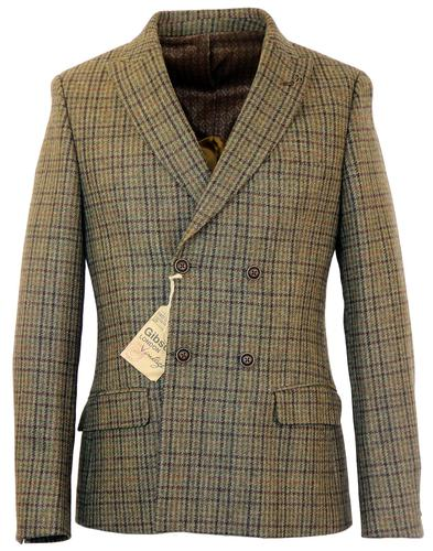 GIBSON LONDON Double Breasted Peak Lapel Jacket
