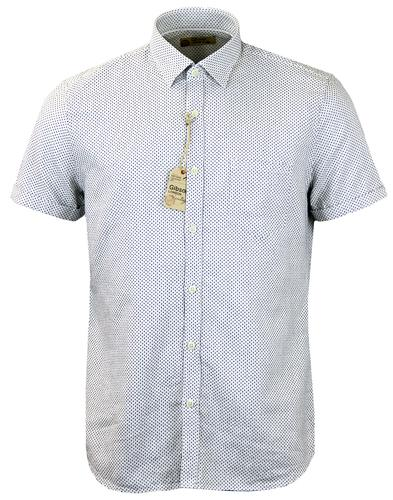 Jamie GIBSON LONDON Mod Dobby Cross Shirt (W)
