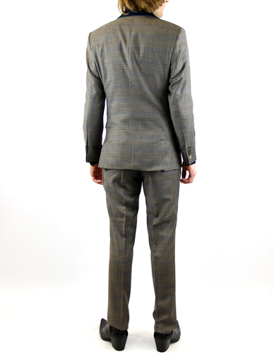 Marriott GIBSON LONDON 60s Mod POW Check Suit (T)