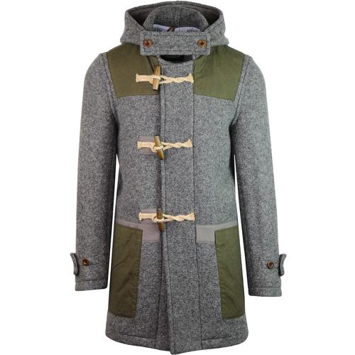 Gloverall Yarmouth Wax Patch Duffle Coat