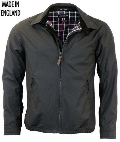 GLOVERALL Made In England Waxed Bomber Jacket