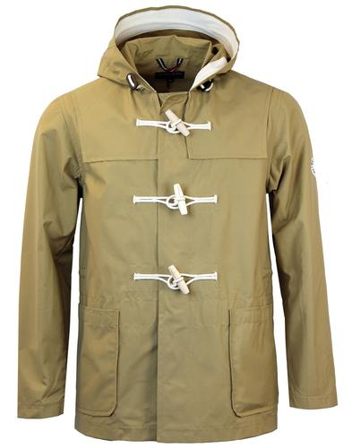 GLOVERALL Retro Mod Lightweight Showerproof Cotton Duffle Coat