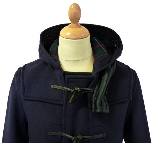 GLOVERALL 3251 Mid Melton Retro Mod Duffle Coat N