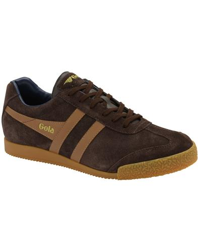 GOLA Harrier Suede Mens Retro 1970s Trainers (BTN)