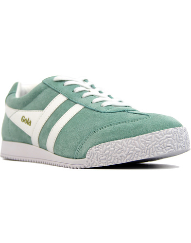 GOLA Harrier Womens Retro Suede trainers MINT