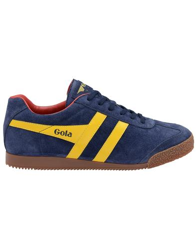 GOLA Harrier Suede Mens Retro 1970s Trainers (NSR)