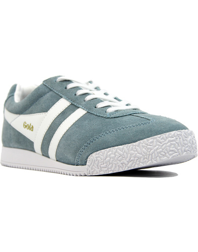 GOLA Harrier Womens Retro Suede trainers SKY