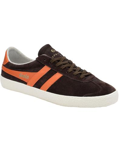 Specialist GOLA Retro 1970s Suede Trainers (DB/O)