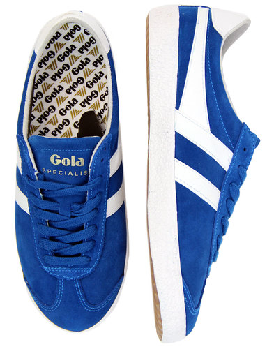 Specialist GOLA Mens Retro 70s Suede Trainers (MB)