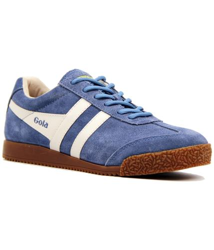 GOLA CLASSICS RETRO 60s 70s HARRIER TRAINERS BLUE