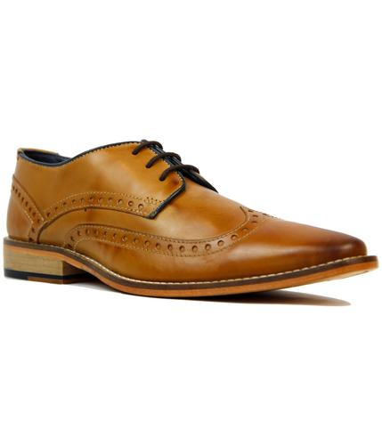 GOODWIN SMITH HEALY RETRO MOD DERBY BROGUE SHOES