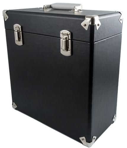 GPO Retro Vinyl Case | 60s Mod LP Record Box BLACK