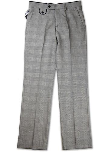 GUIDE LONDON RETRO MOD PRINCE OF WALES TROUSERS