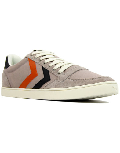 Slimmer Stadil Duo HUMMEL Retro Canvas Trainers DG
