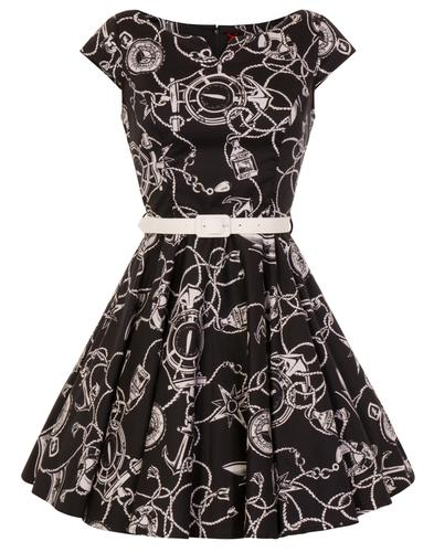 Mistral HELL BUNNY Retro 60s Nautical Summer Dress
