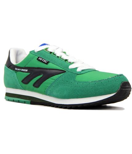 HI-TEC RETRO SILVER SHADOW ORIGINAL TRAINERS GREEN