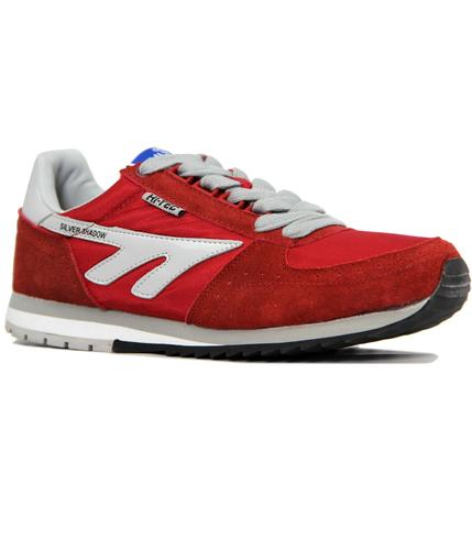 HI-TEC RETRO SILVER SHADOW ORIGINAL TRAINERS RED