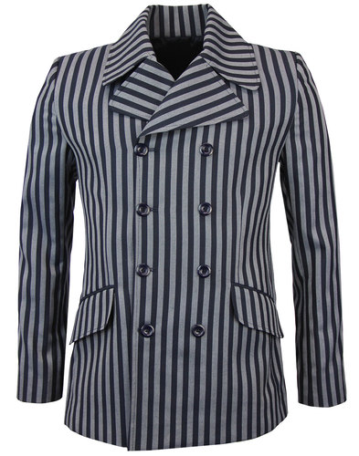 Howl MADCAP ENGLAND Double Breasted Boating Blazer