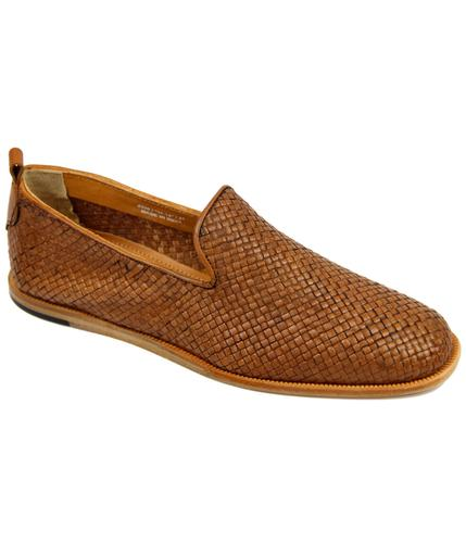 Ipanema H by HUDSON Retro Mod Basketweave Loafers