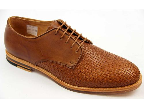 Hadstone Weave H by HUDSON Retro Mod Derby Shoes T