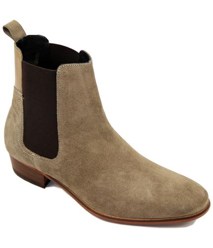 H BY HUDSON CHELSEA BOOTS MOD WATTS SAND