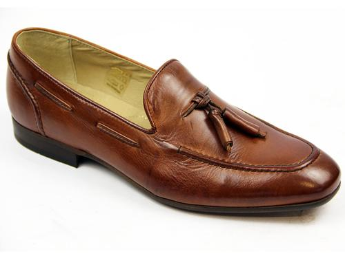 Pierre H by HUDSON Retro Mod Leather Loafers (T)