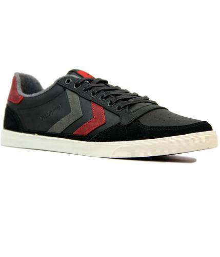 HUMMEL Slim Stadil Oiled Low Retro Trainers (BR)