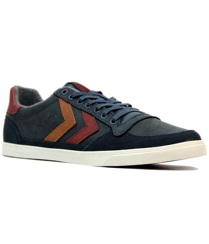 HUMMEL Slim Stadil Oiled Low Retro Trainers (DB)