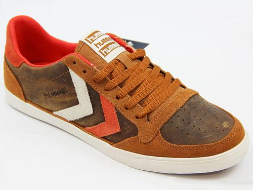 HUMMEL Slimmer Stadil Oiled Low Retro Trainers GG