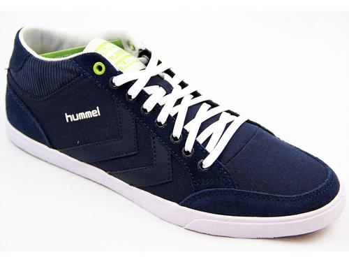 HUMMEL RETRO TRAINER STADIL ONE WAY MID NAVY