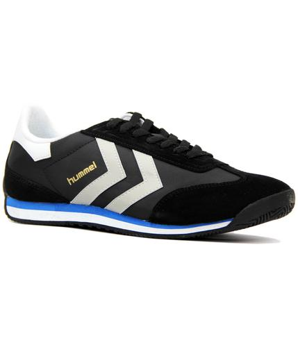 Stadion Lo HUMMEL Retro 70s Indie Trainers BLACK