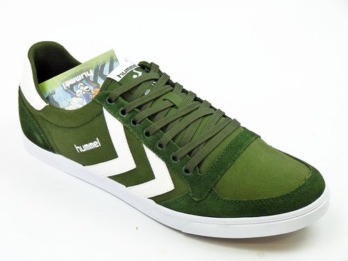 Slimmer Stadil Low Canvas HUMMEL Retro Trainers KG