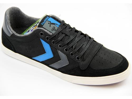 HUMMEL RETRO TRAINERS SLIMMER STADIL OILED BLACK