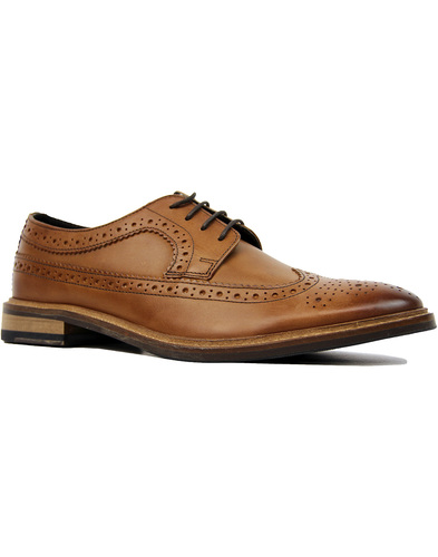 Russell IKON Retro Sixties Wingtip Derby Brogues