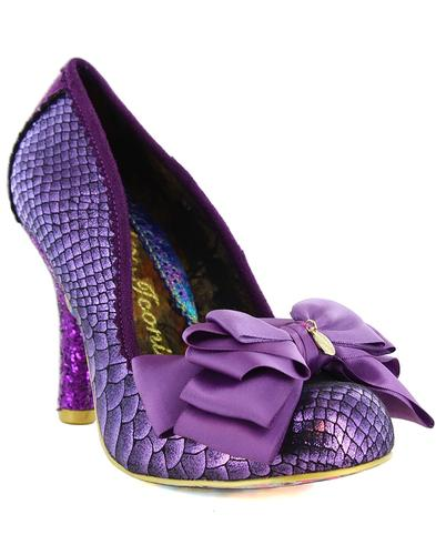Ascot IRREGULAR CHOICE Retro Vintage Bow Heels P